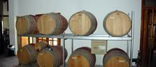 vouni panayia winery barrels
