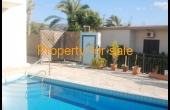PP092, Four bed house in Peyia for sale