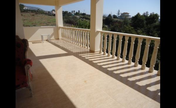 Upstairs balcony right