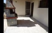 Back door patio area