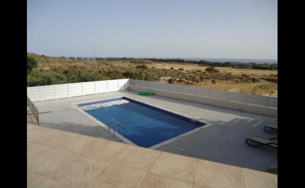 Pool from above veranda